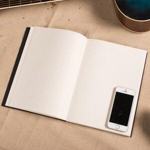 Image 3 - Скетчбук EZONE с черной картой, скетчбук, арт маркер, книжка для рисования, ретро альбом для рисования, школьные и офисные принадлежности, Papelaria
