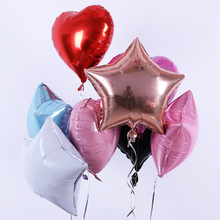 18 inch five pointed star  helium balloon light plate aluminum film Baby Shower bithday wedding party Decoration