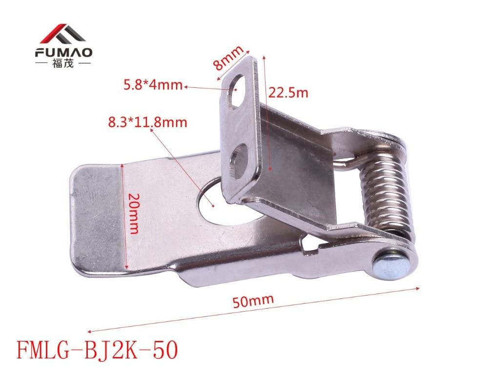 Купить с кэшбэком Manufacture zinc plated spring clip fastenings/metal clips fasteners for led downlight