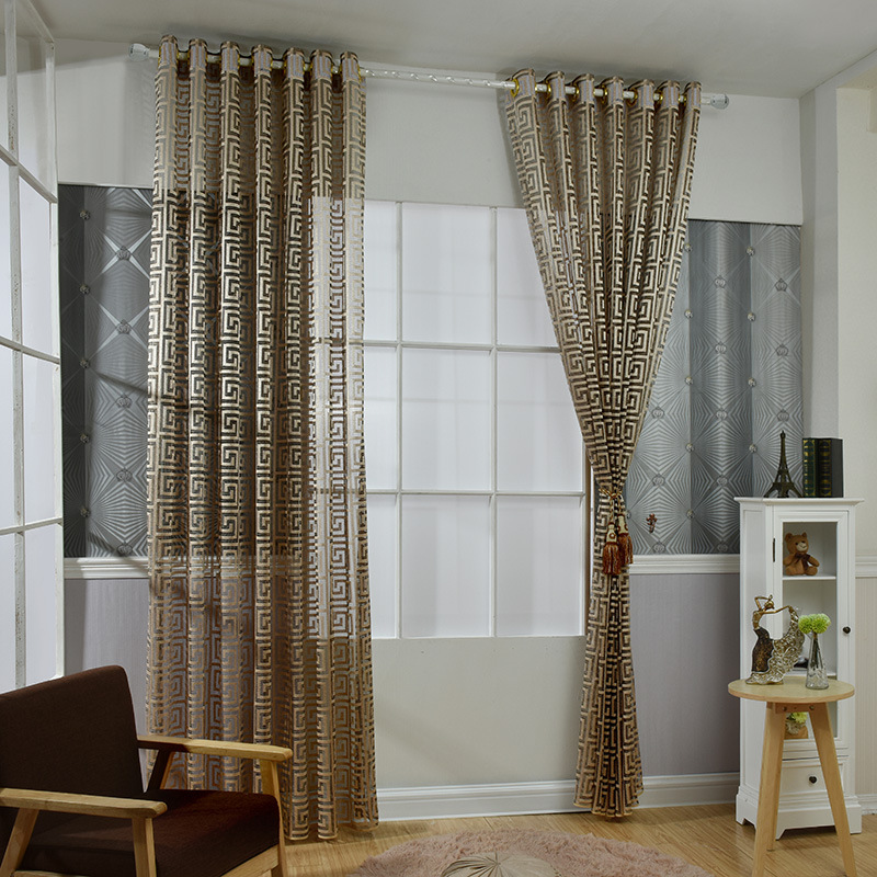 Luxury Kitchen Curtains: New Arrival Chinese Luxury Room Curtains For The