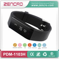 Bluetooth 4.0 Activity Tracker Pedometer Smart Heart Rate Bracelet Wristband for Sports