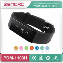 Bluetooth four.zero Exercise Tracker Pedometer Good Coronary heart Fee Bracelet Wristband for Sports activities