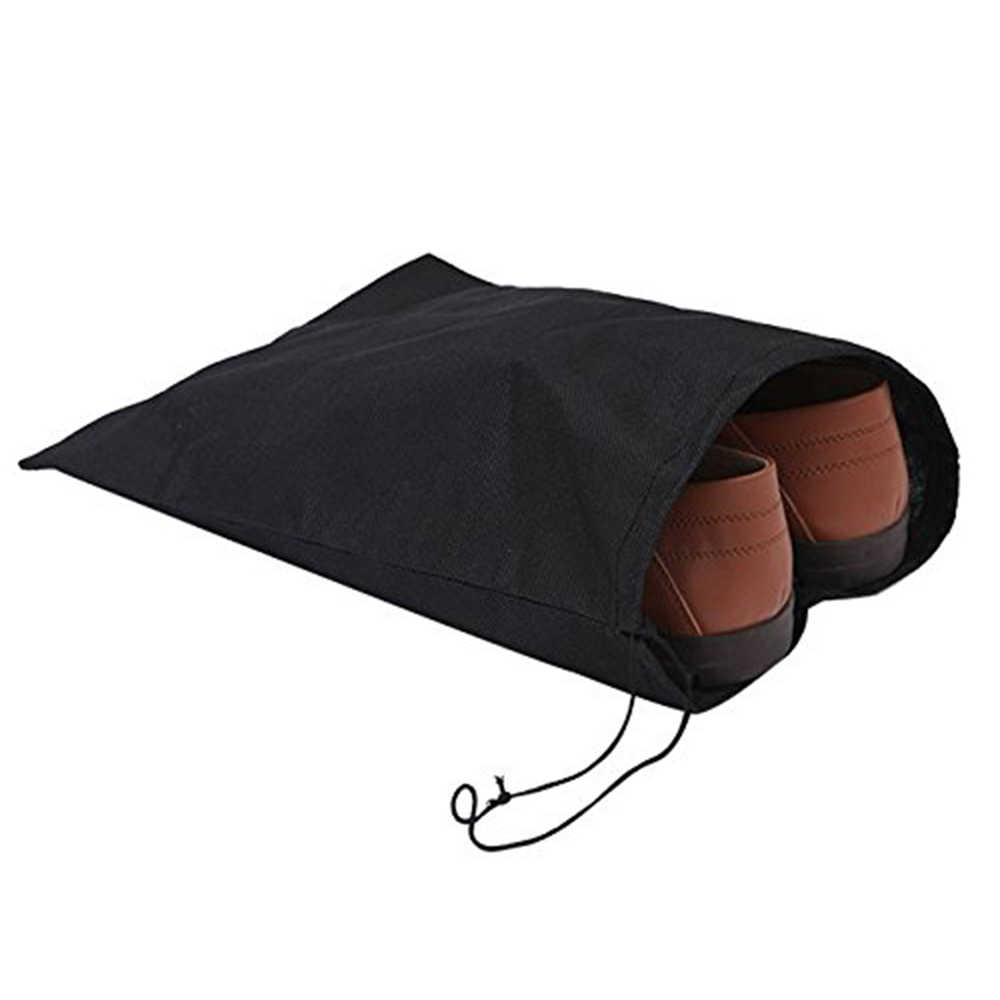 Waterproof Shoes Storage Bag Pouch Portable Travel Organizer Drawstring Bag Cover NylonLaundry Organizer
