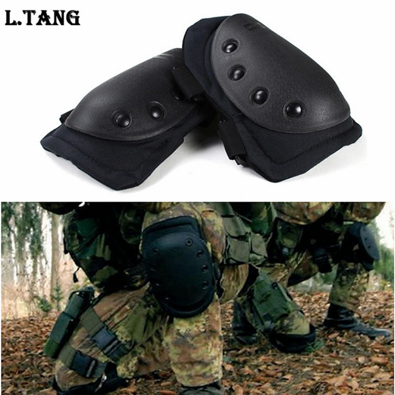4 Pcs/lot Adult Tactical Combat Protective Pad Set Professional Gear Sports Military Knee Elbow Protector Elbow & Knee Pads L583