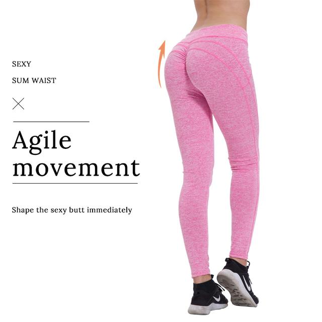 Leggings de mujer ropa de entrenamiento de cintura alta
