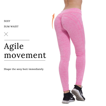 Sexy Push Up Leggings Women Workout Clothing High Waist Leggins Female Breathable Patchwork Fitness Pants ladies Gym Sports 2