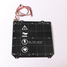 3d Printer Parts Clone Prusa i3 3d printer heated bed Magnetic MK52 Heatbed 24V / 12V assembly