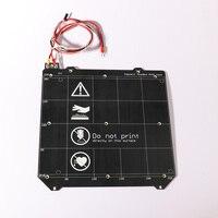 3d Printer Parts Clone Prusa i3 MK3 3d printer heated bed Magnetic MK52 Heatbed 24V / 12V assembly