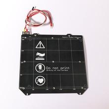 3D-принтеры запчасти клон Prusa i3 3d принтер с подогревом Магнитная MK52 Heatbed 24 В/12 в сборки