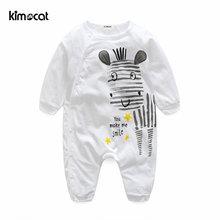 Kimocat/Одежда для новорожденных мальчиков и девочек хлопковые