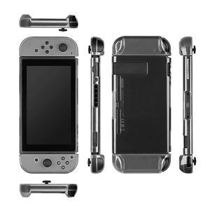 Image 3 - Console de jeu PC Transparent housse de protection en cristal pour Nintendo Switch NS Transparent résistant à lusure et résistant à la saleté