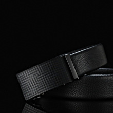 Business belt classic business first layer cowhide simple mens quality luxury high automatic buckle