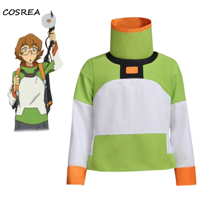 Voltron: Legendary Defender Pidge Shirt Jacket Cosplay Costume Adult Woman Man Halloween Props Accessories Top Coat Outfit