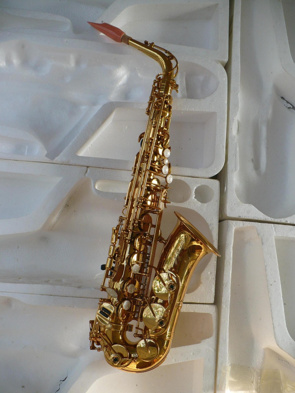 Spike price mid grade imitation gold paint law selmer802 paragraph Sa old man font b saxophone