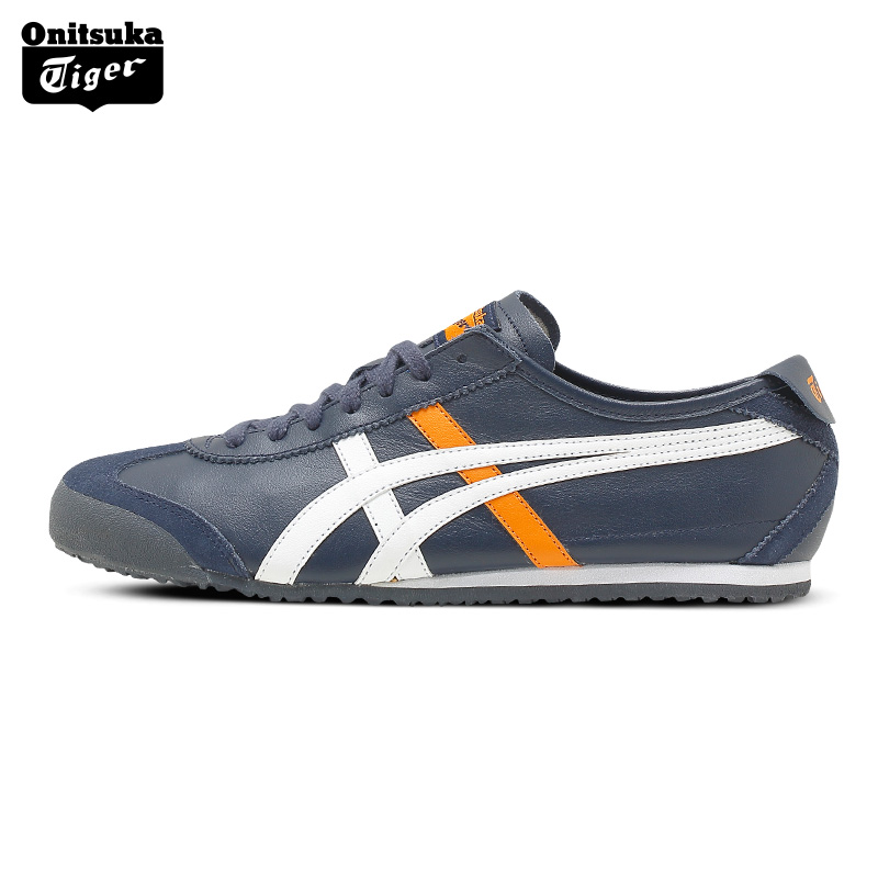 2017 ONITSUKA TIGER MEXICO 66 Men's Shoes Breathable Leather Men Sport Shoes Sneakers Lightwei Trainers Athletic Shoes D4J2L 2017brand sport mesh men running shoes athletic sneakers air breath increased within zapatillas deportivas trainers couple shoes