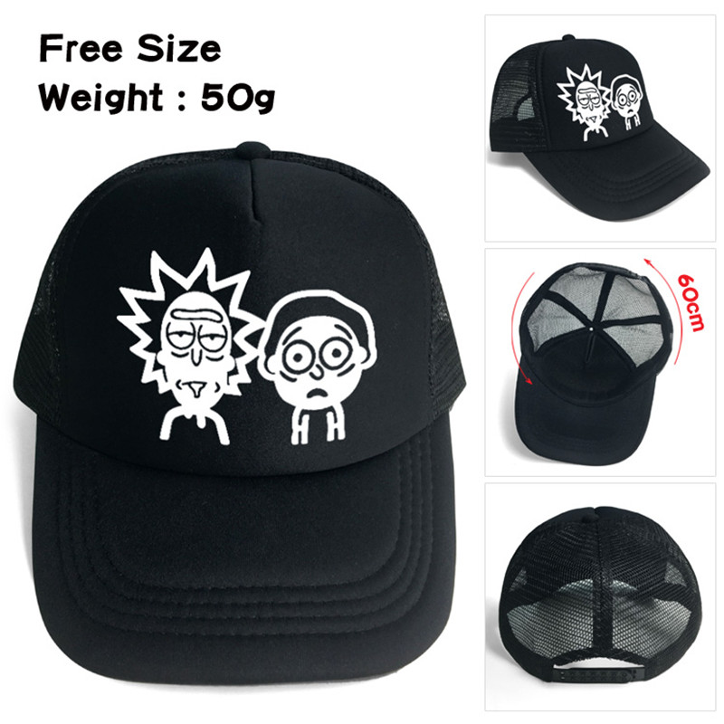 Detail Feedback Questions about Rick and Morty Funny Science Theater Men  Women Boys Girls Mesh Base Ball Cap Hat Cosplay on Aliexpress.com  0c93c4fd66f6