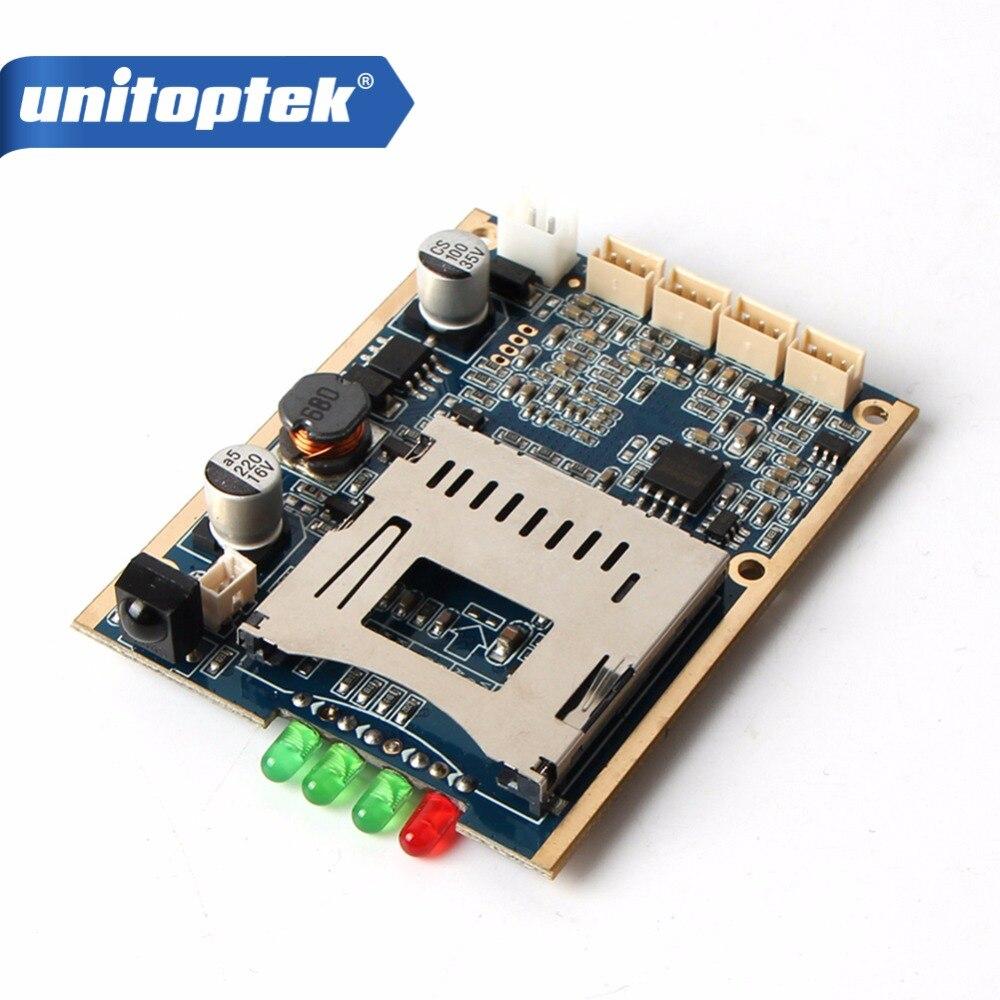 Tempo Real 1CH Mini HD DVR XBOX PCB Placa de Até D1 30fps Apoio 32 GB Cartão SD de Segurança de Vídeo Digital Para O Modelo de Aeronave gravador