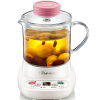 Bird's Nest Pot Glass Electric Cup 0.4 Liters Anti dry Kitchen Appliances Electric Heat Cup Water Kettle Electric Glass