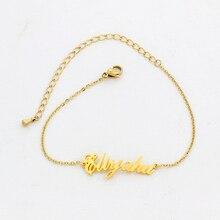 Name Bracelet Charms Handmade