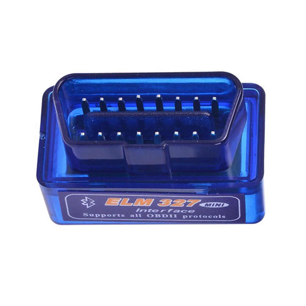 Mini ELM327 OBDII OBD2 Bluetooth araç teşhis tarama aracı otomatik android için tarayıcı cihazları V2.1 M8617