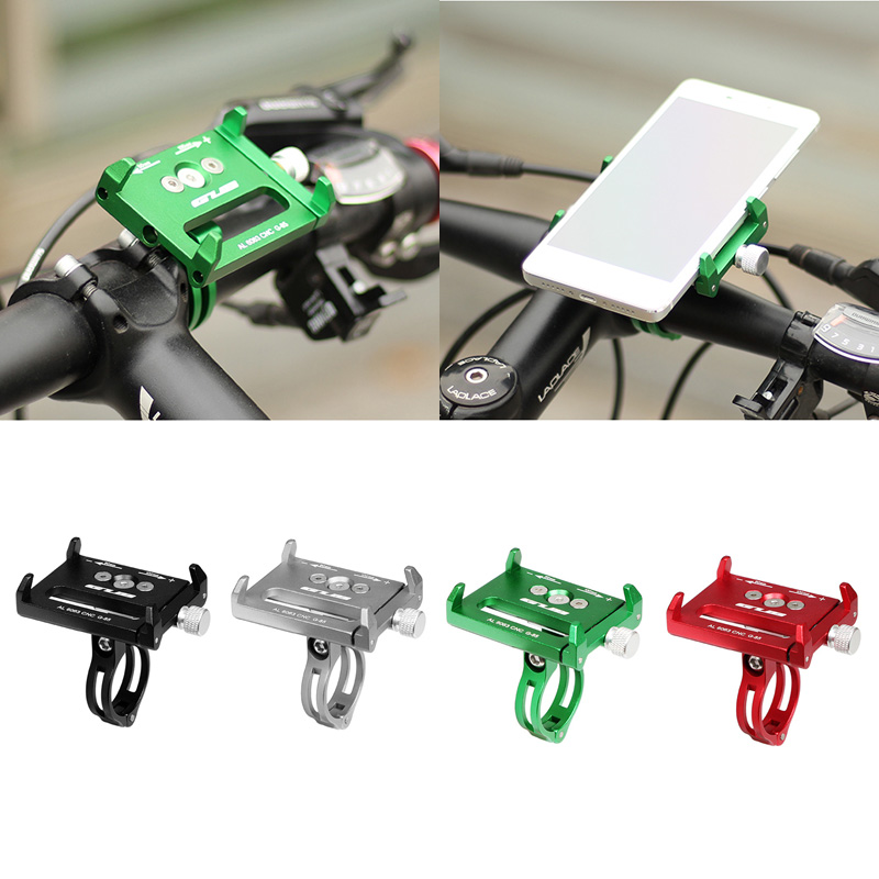 Metal Bike Bicycle Holder Racks Motorcycle Handle Phone Mount Stand For Cellphone GPS