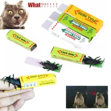 2pce/Set Trick Chewing Gum Funny Big Safety Nove Cockroach Chewing Gum Whimsy Toy Spoof Joke Surprised Trick Toys Shocking Gifts