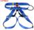 Cinto de segurança de escalada ao ar livre escalada rapel cinto busto cintura usar cintos de segurança cinto de segurança azul GM1412