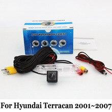 Автомобиля Резервную Камеру Для Hyundai Terracan 2001 ~ 2007/RCA Кабель aux или Беспроводной/HD CCD Ночного Видения Автомобильная Камера Заднего вида