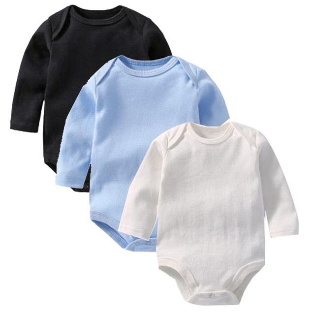 3pcs/ lot unisex New Baby boys clothes sets Long Sleeves winter Novelty baby onesie Overalls bodysuits Infant Clothing jumpsuit
