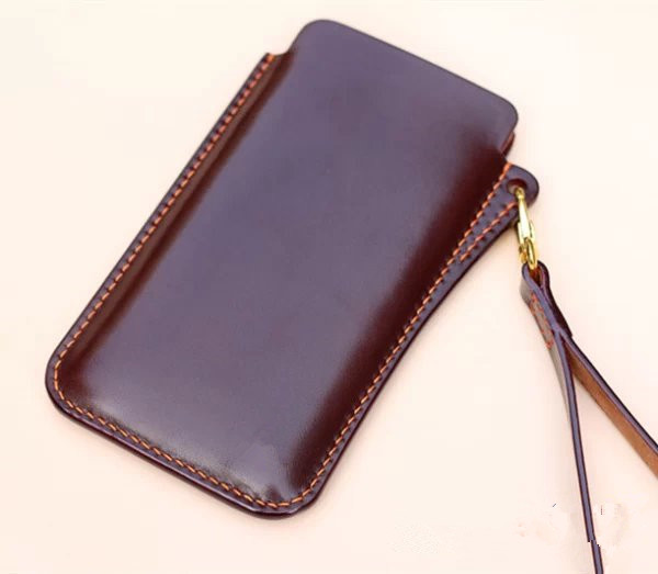 best sneakers 108a6 28100 US $6.25  DIY hand leather phone pocket drawing leather mobile phone case  drawing package MINI original drawings QQW 58-in Cutting from Home & Garden  ...