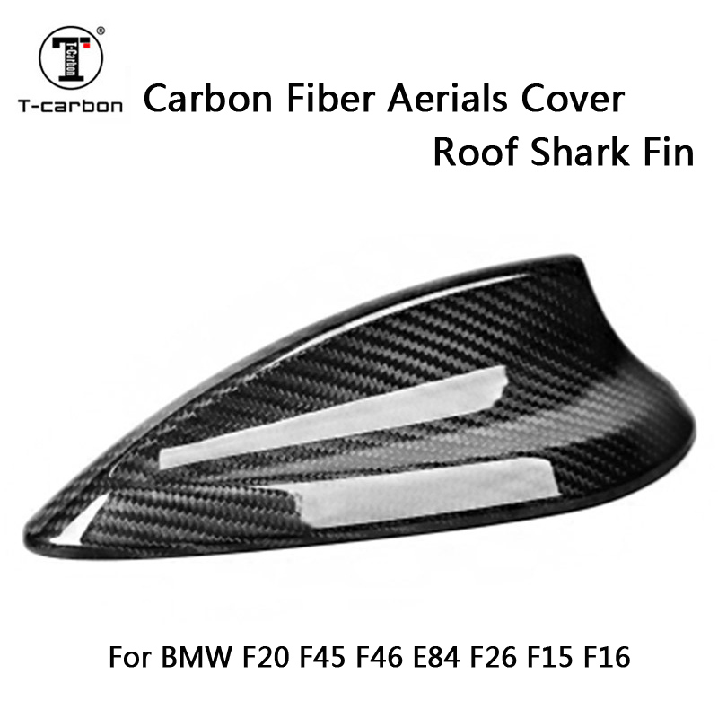 Carbon Fiber Antenna Aerials Cover Roof Shark Fin Trim For BMW 1 series F20 2 series F45 F46 X1 E84 X4 F26 X5 F15 X6 F16