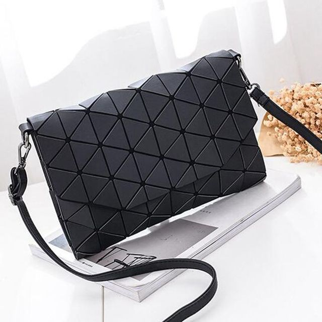 Matte Designer Women Evening Bag Shoulder Bags Girls Flap Handbag Fashion Geometric Casual Clutch Messenger Bag PP-1148 2