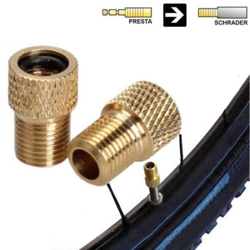 Bicycle Valve Connector Adaptor Bike Pump Adapter Set 10pcs MA