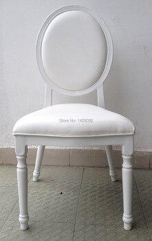 สีขาวหุ้มอลูมิเนียมโรงแรมแต่งงานเก้าอี้LQ-L9999