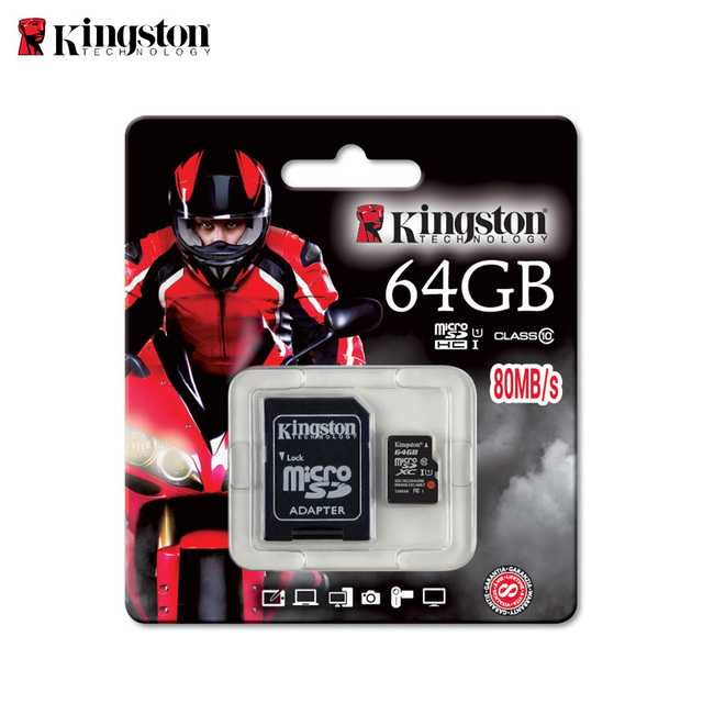 Карта памяти Kingston microSDXC SDC10G2/64 ГБ