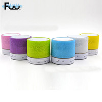 Colorful Mini Bluetooth Speaker Portable Wireless Led Light Music Surround Sound 3D Stereo Portable LED Bluetooth