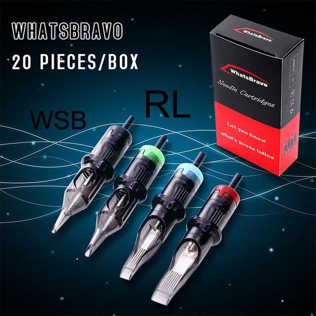 Luckybuybox WhatsBravo 使い捨てラウンドライナータト針ソフト膜のためのロータリーペン針供給