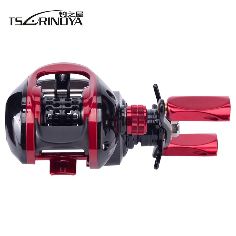 TSURINOYA XF-50 Baitcasting bobine 190g 10BB 6.6: 1 système de frein magnétique 12.5g en alliage d'aluminium léger bobine de pêche appât de leurre - 4
