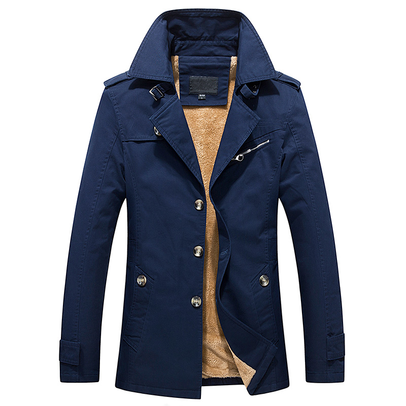 2017 Winter Jacket Men Coat hight quality Brand Fleece Warm Fashion Cotton Padded Coat BIG SIZE Male Clothes Outerwear Plus 5XL