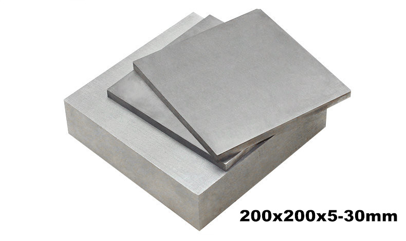 1 pcs 200x200mmx5-30mm Thickness 5-30mm TC4 Ti Sheet Ti Plate Titanium Block Grade 5 Titanium Plate Gr.5 gr5 Industry or DIY 0 1x200x800mm titanium alloy strip uns gr5 tc4 bt6 tap6400 titanium ti foil thin sheet industry or diy material free shipping page 10