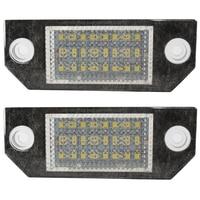 2pcs 5W Car LED License Number Plate Light For Ford Focus 2 3 Kuga C Max