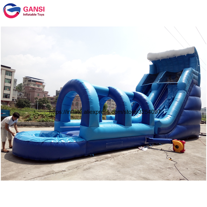 Crazy giant inflatable water slide for adult cheap price PVC high quality commerical inflatable slide castle house for jumping hot sale factory price pvc giant outdoor water inflatable slide bounce house bouncy slide