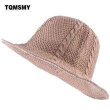 TQMSMY sombreros de paja de verano para las mujeres textura tejida sombreros  Casual playa Panamá sombrero de sol suave fácil ple. a388a3e3772f