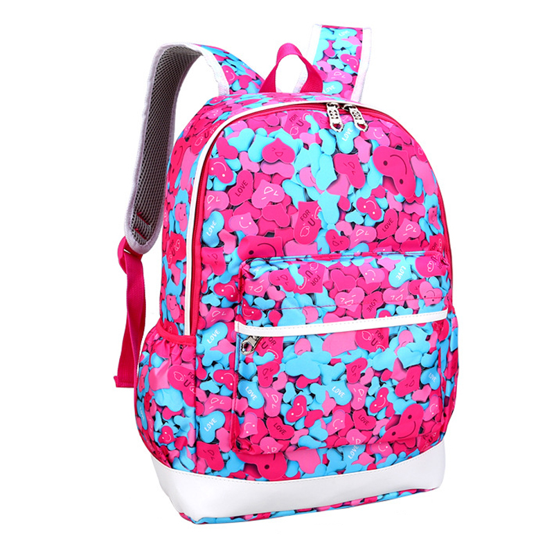 2016 Fashion Women Backpacks School Bags For Teenage Girls College High School Casual Daily Backpack For