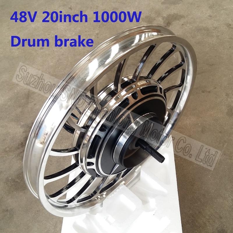 Electric bike hub motor 20inch 48v60v72v 1000w e scooter for 1000w brushless dc motor