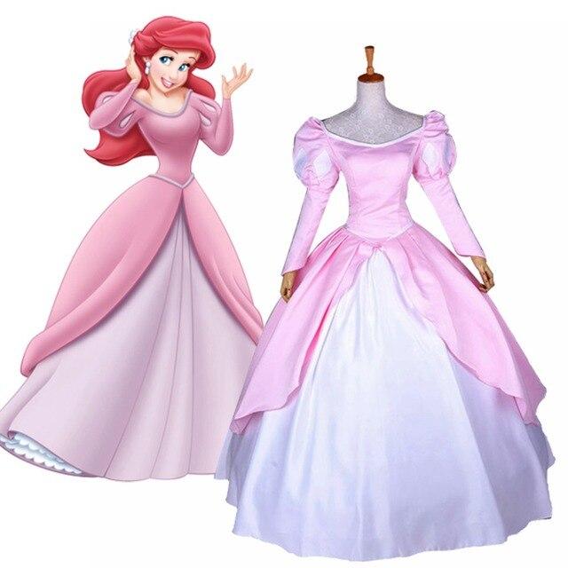Fairytale Movie The Little Mermaid Princess Ariel Cosplay Costume ...