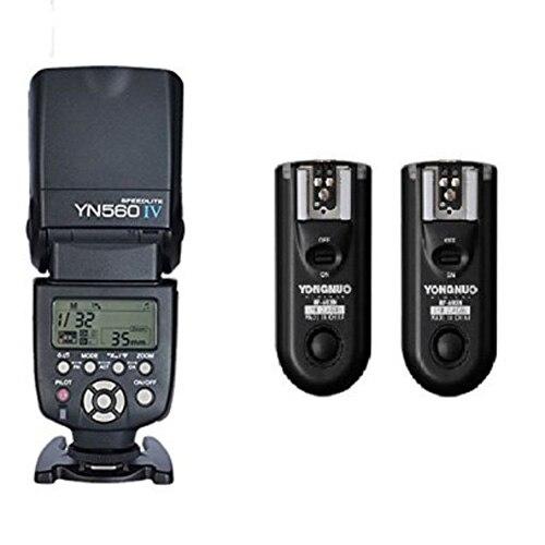 Top Deals Yn560 IV Master Radio Flash Speedlite + RF-603 II Flash Trigger for Canon Pentax Olympus yongnuo yn 560 iv yn560 wireless ttl hss master radio flash speedlite 2pcs rf 605c rf605 lcd wireless trigger for canon camera