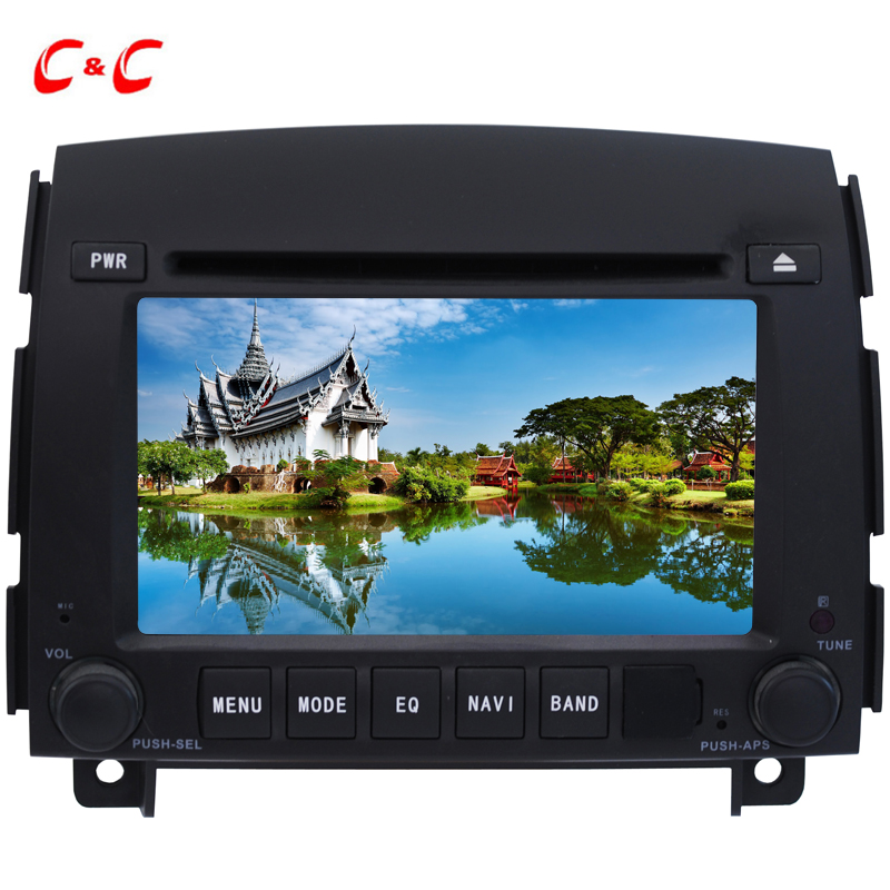 Upgraded Capacitive Screen ! Car DVD Player GPS for  Hyundai Sonata NF with Radio SWC BT Mirror Link+Free 8G Map Card
