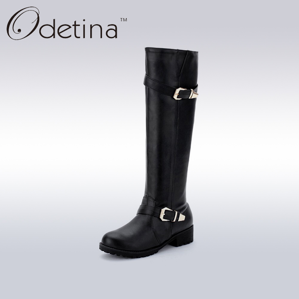 Online Get Cheap Long Black Boots Flat -Aliexpress.com   Alibaba Group