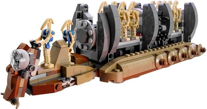 10374 NEW Star wars Battle Droid Troop Carrier model Building Blocks bricks Toys Boys compatible gift kid set 75086